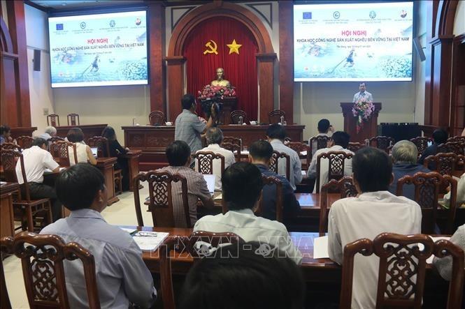 Maßnahmen für eine nachhaltige Aquakulturproduktion in Vietnam vorschlagen - ảnh 1