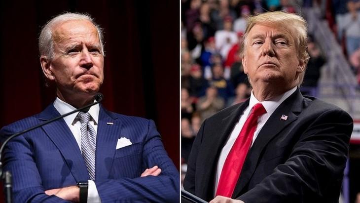 Joe Biden führt vor Donald Trump in einer landesweiten Umfrage mit 15 Punkten - ảnh 1