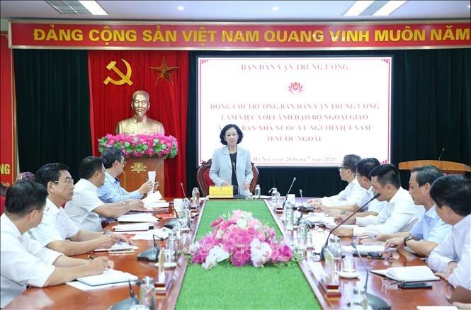 Verstärkung der Öffentlichkeitsarbeit gegenüber den im Ausland lebenden Vietnamesen - ảnh 1