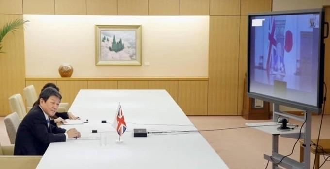 Großbritannien und Japan nähern sich einem bilateralen Handelsabkommen an - ảnh 1