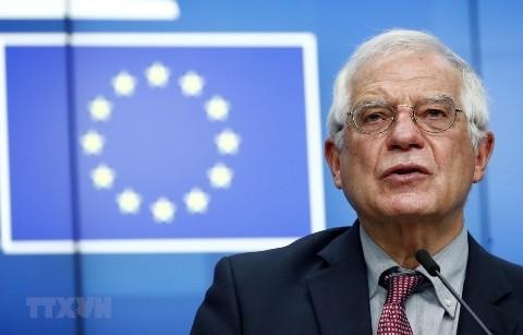 EU-Außenminister organisieren dringliche Sitzung über die Spannungen zwischen der Türkei und Griechenland - ảnh 1