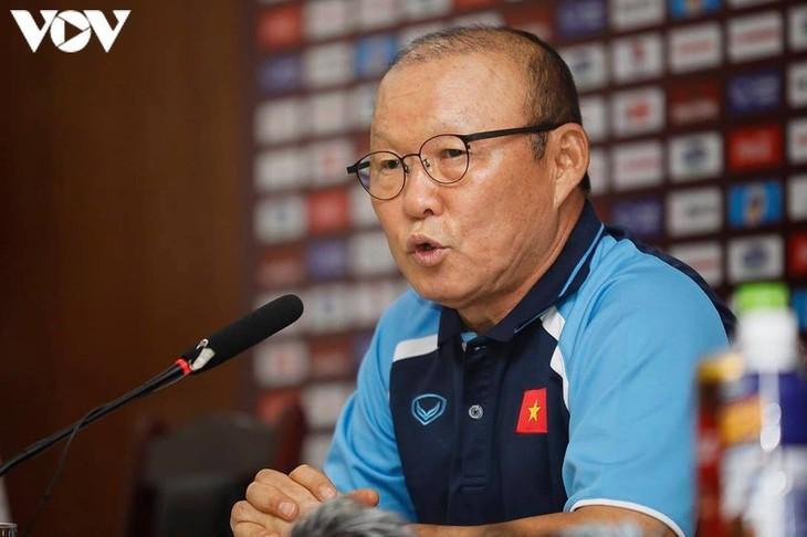 Vietnamesische Fußballnationalmannschaft wird sich nach dem Ende von V-League 2020 versammeln - ảnh 1