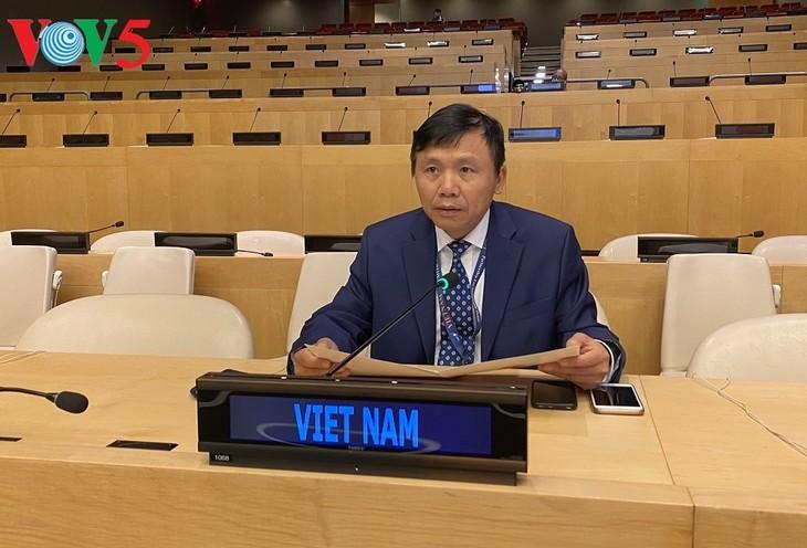 UN-Sicherheitsrat diskutiert über die Tätigkeiten der UN-Mission im Somalia - ảnh 1