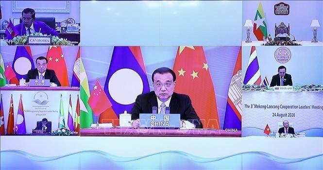 China schlägt Verstärkung der Mekong-Lancang-Zusammenarbeit vor - ảnh 1