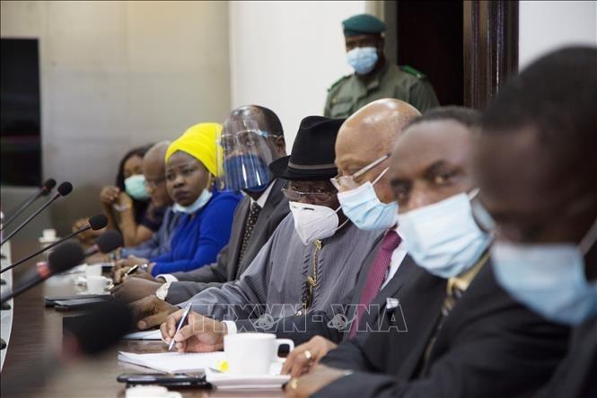 Putsch in Mali: ECOWAS arbeitet mit aufständischen Militär-Führern - ảnh 1