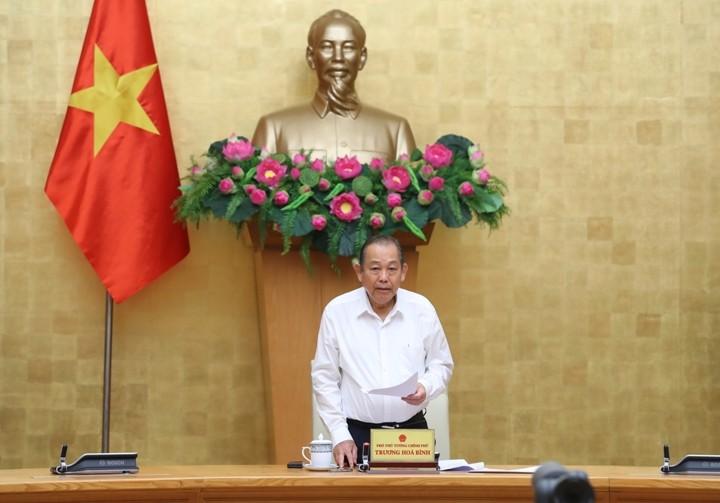 Vize-Premierminister Truong Hoa Binh: Flugsicherheit fördert Wirtschaftsentwicklung - ảnh 1