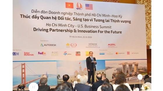 Unternehmensforum zwischen Ho-Chi-Minh-Stadt und den USA - ảnh 1