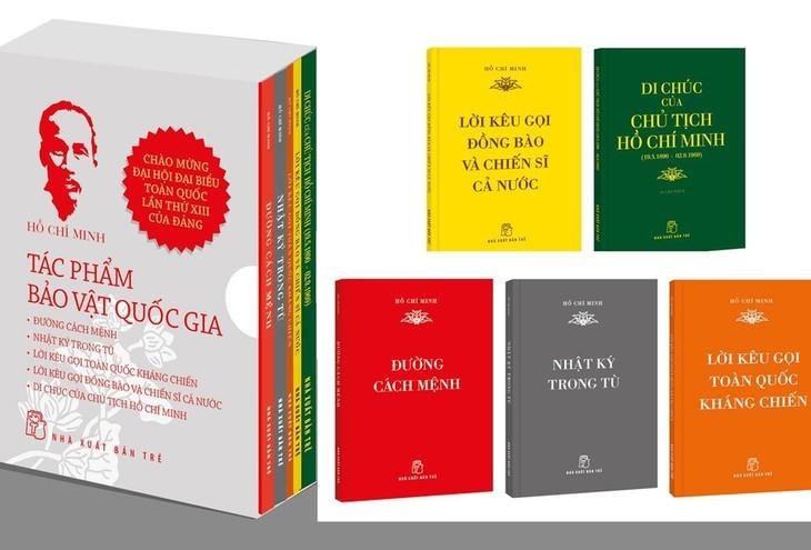 """Veröffentlichung des Buches """"Ho Chi Minh – Nationaler Schatz"""" - ảnh 1"""