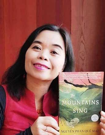 """Roman """"The Moutains Sing"""" von Nguyen Phan Que Mai wird in Großbritannien herausgegeben - ảnh 1"""