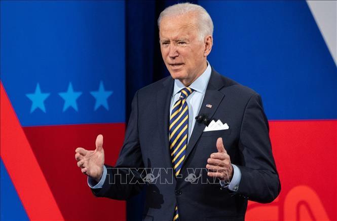 US-Präsident Joe Biden fordert den Senat auf, Hilfspaket in Höhe von 1900 Milliarden US-Dollar zu genehmigen - ảnh 1