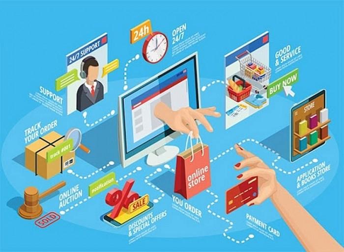 Ministerium für Industrie und Handel begleitet Unternehmen bei der Anwendung des elektronischen Handels - ảnh 1