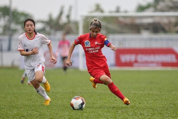 Eröffnung der nationalen U19-Frauenfußballmeisterschaft 2021 in Hanoi - ảnh 1
