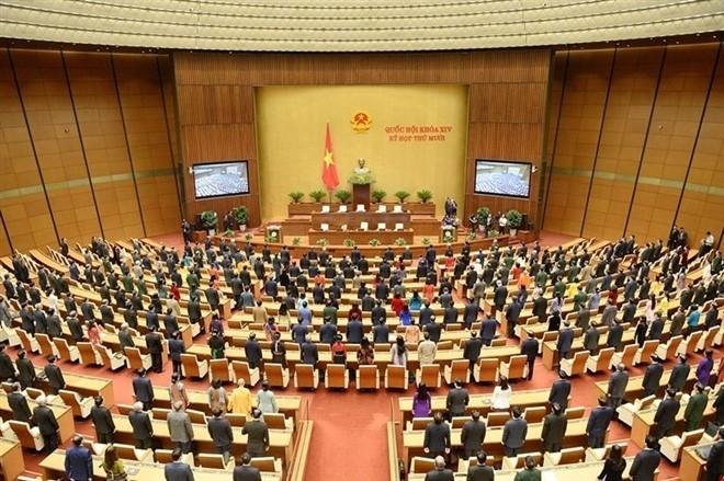 Parlament der 14. Legislaturperiode führt letzte Sitzung - ảnh 1