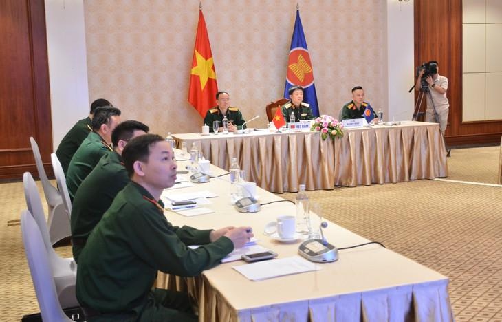 Erweiterte Online-Konferenz der hochrangigen ASEAN-Verteidigungsbeamten - ảnh 1