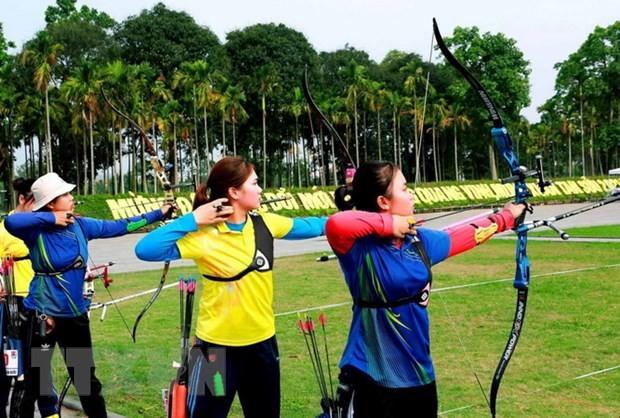Hanois Team leitet die Nationalmeisterschaft der Bogenschützen 2021 - ảnh 1