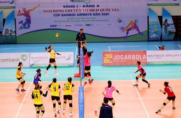 Eröffnung der Nationalvolleyballmeisterschaft in Quang Ninh - ảnh 1