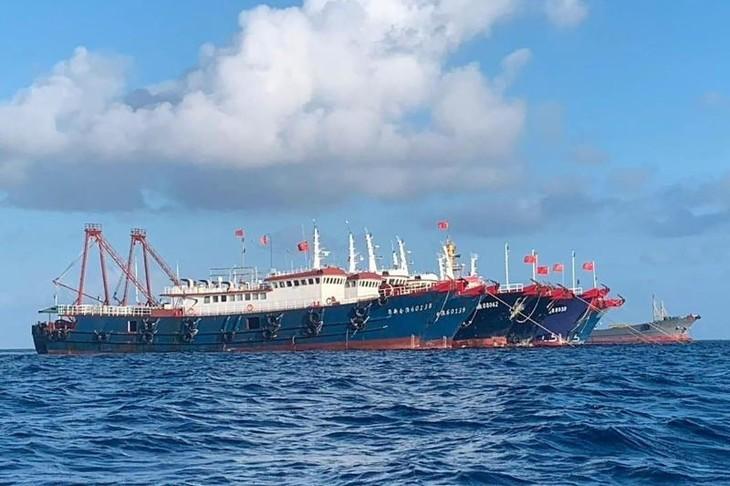Die Philippinen lehnen Chinas einseitige Ansprüche im Ostmeer ab  - ảnh 1