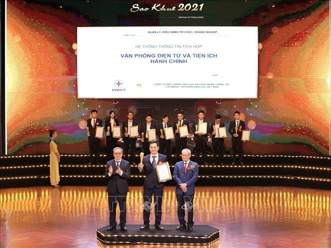 Verleihung des Sao Khue – Preises 2021 - ảnh 1