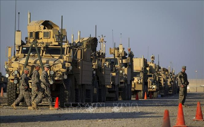 Die USA verwirklichen den geplanten Truppenabzug aus Afghanistan - ảnh 1