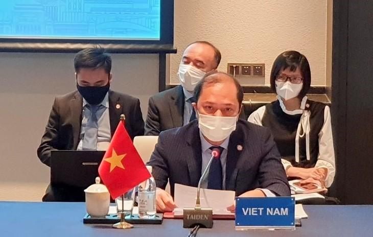 Beamte der ASEAN und Chinas kommen zur Konferenz über die Umsetzung der DOC zusammen - ảnh 1