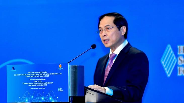 Verstärkung der Asien-Europa-Partnerschaft in einer Welt im Wandel - ảnh 1