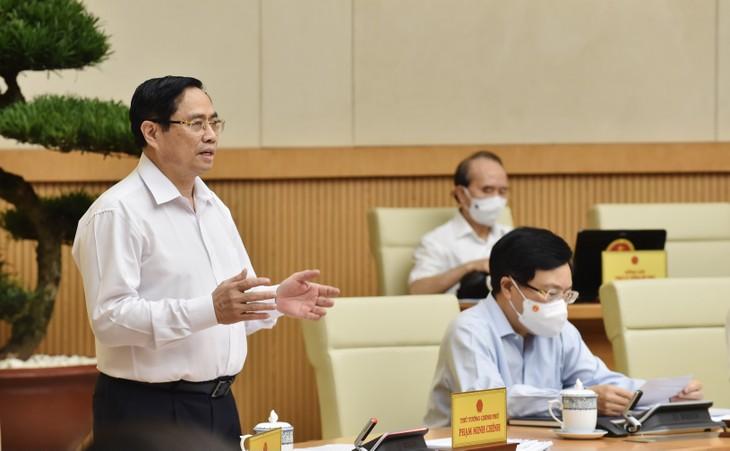 Regierungssitzung erörtert Maßnahmen zur sozioökonomischen Entwicklung in der zweiten Jahreshälfte - ảnh 1