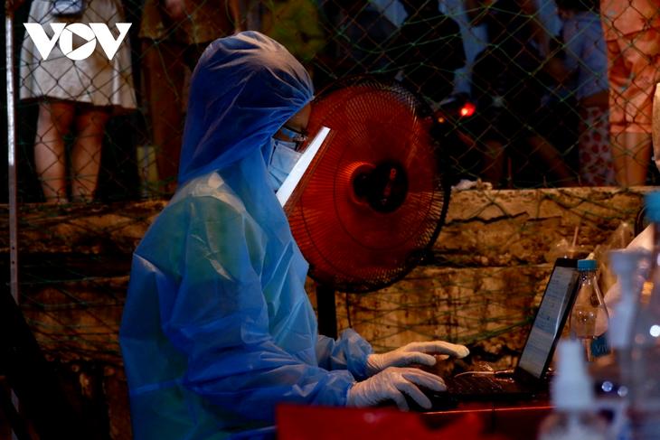Die größte Impfkampagne in der Geschichte in Ho Chi Minh Stadt - ảnh 1
