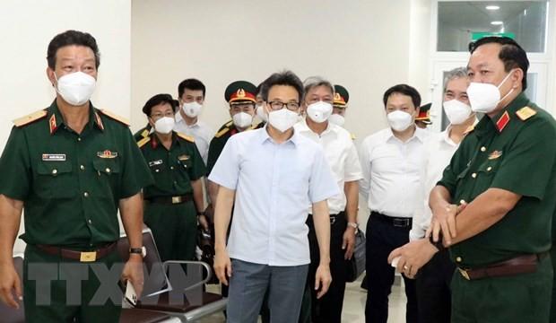 Vize-Premierminister Vu Duc Dam: Mobilisierung aller Ressourcen zur Bekämpfung der Epidemie in Ho-Chi-Minh-Stadt - ảnh 1