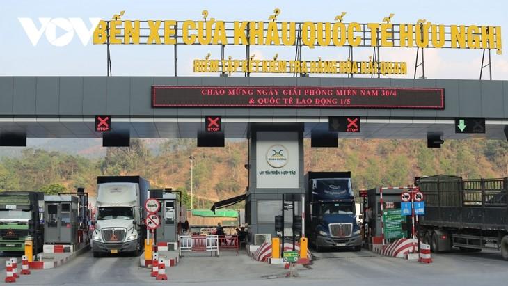 Lang Son testet digitale Grenzübergänge zur Vervollkommnung der Importlandkarte des Landes - ảnh 1
