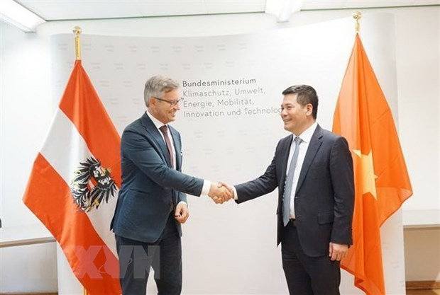 Vietnam und Österreich streben die Zusammenarbeit bei erneuerbaren Energien und nachhaltiger Entwicklung an - ảnh 1