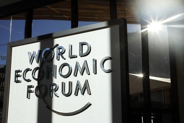 Weltwirtschaftsforum im schweizerischen Davos Anfang 2022  - ảnh 1