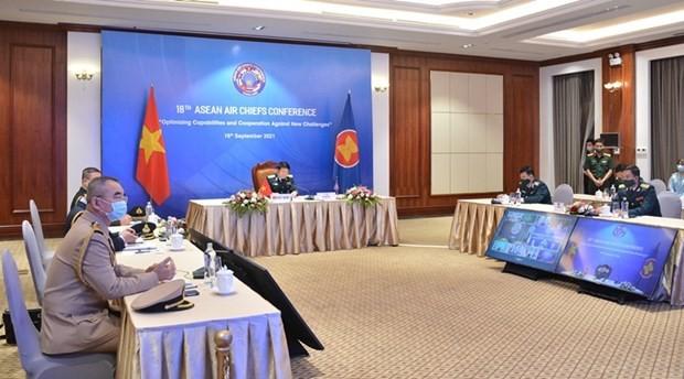 Die Stärke der Luftstreitkräfte der ASEAN-Staaten bei der Reaktion auf Naturkatastrophen und Epidemien verstärken - ảnh 1