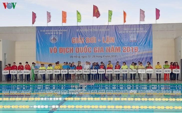 다낭시 2019년 국가 수영대회 개막 - ảnh 1