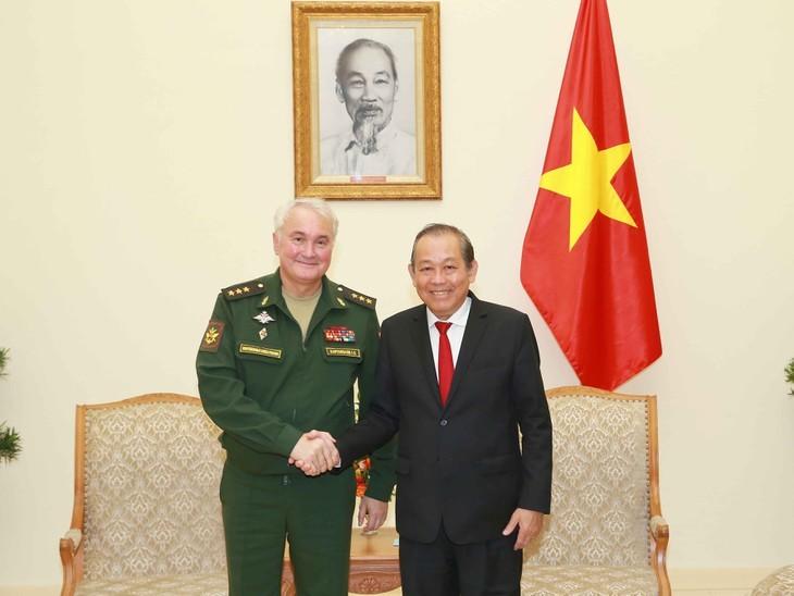 '지속성-실용성-신뢰성', 베트남-러시아 국방협력관계 강화 - ảnh 1