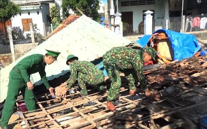 폭풍 홍수 피해의 긴급 복구로 민생 안전을 도모 - ảnh 1