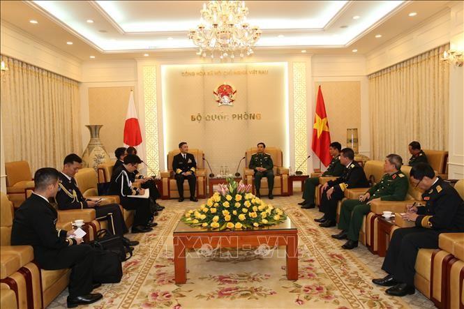 베트남 인민군 참모총장, 일본 해군 총사령관 접견 - ảnh 1