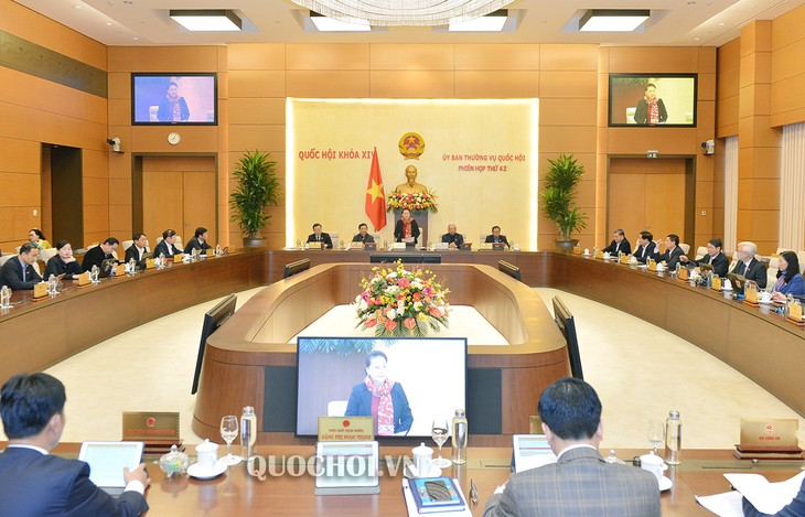 국회상무위원회 제42차 회의 개막 - ảnh 1