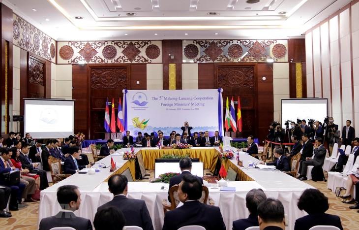메콩 – 란창 유역 각국 협력 강화 합의 - ảnh 1