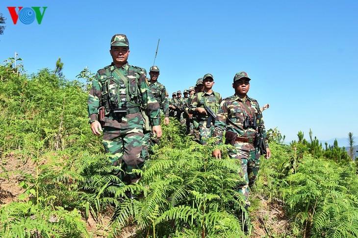 평화 ∙ 우호 ∙ 단결 ∙ 믿음을 상징하는 베트남 ∙ 라오스 ∙ 캄보디아의 국경 표지석 - ảnh 3