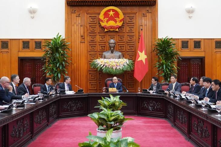베트남, 미국과 무역균형을 위해 노력 - ảnh 1