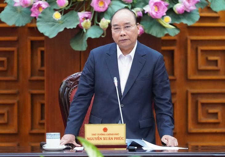 응우옌 쑤언 푹 총리, 일부 교통사업 관련 국무회의 주재 - ảnh 1