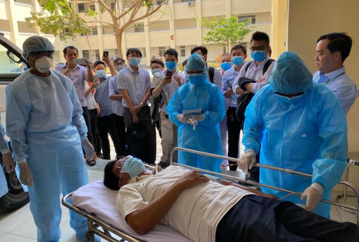 호치민시 두 번째 코로나 19 치료전문병원, 운영 시작 - ảnh 1