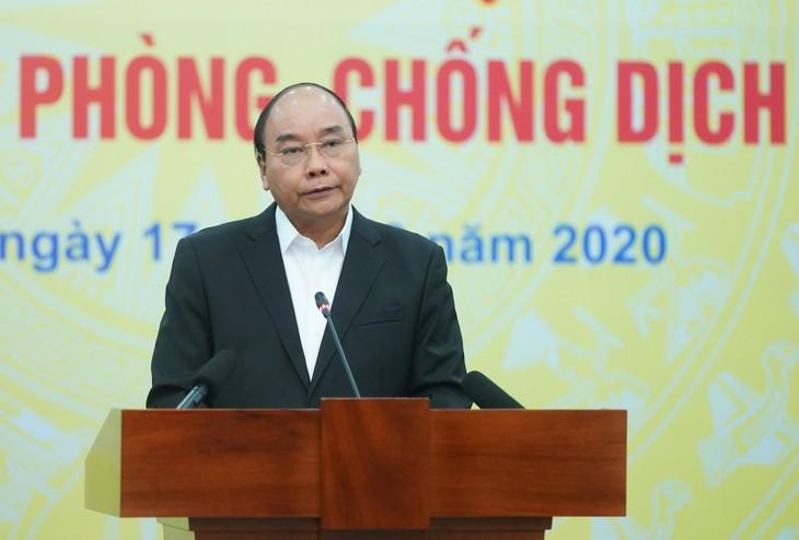 응우옌 쑤언 푹 총리, 코로나19방역을 위한 전국민 캠페인 발족식에 참가 - ảnh 1