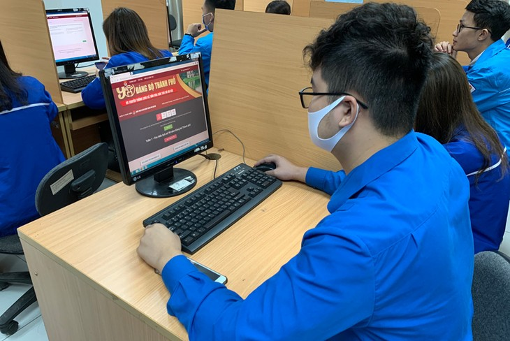 '하노이 당부 설립 90주년 역사와 하노이 문화 역사 전통 알아보기' 테스트 주간 - ảnh 1