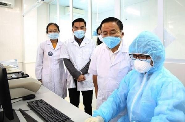 하띤성, 코로나19 진단검사실 설치 - ảnh 1
