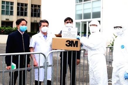 청년의사협회, 방역 전선에 마스크 등 방역용품 기증 - ảnh 1