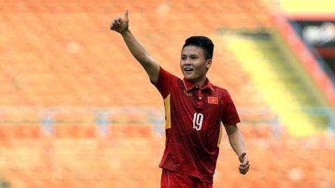 AFC, 코로나19 방역 캠페인 참가자로 응우옌 꽝 하이 선수 선정 - ảnh 1