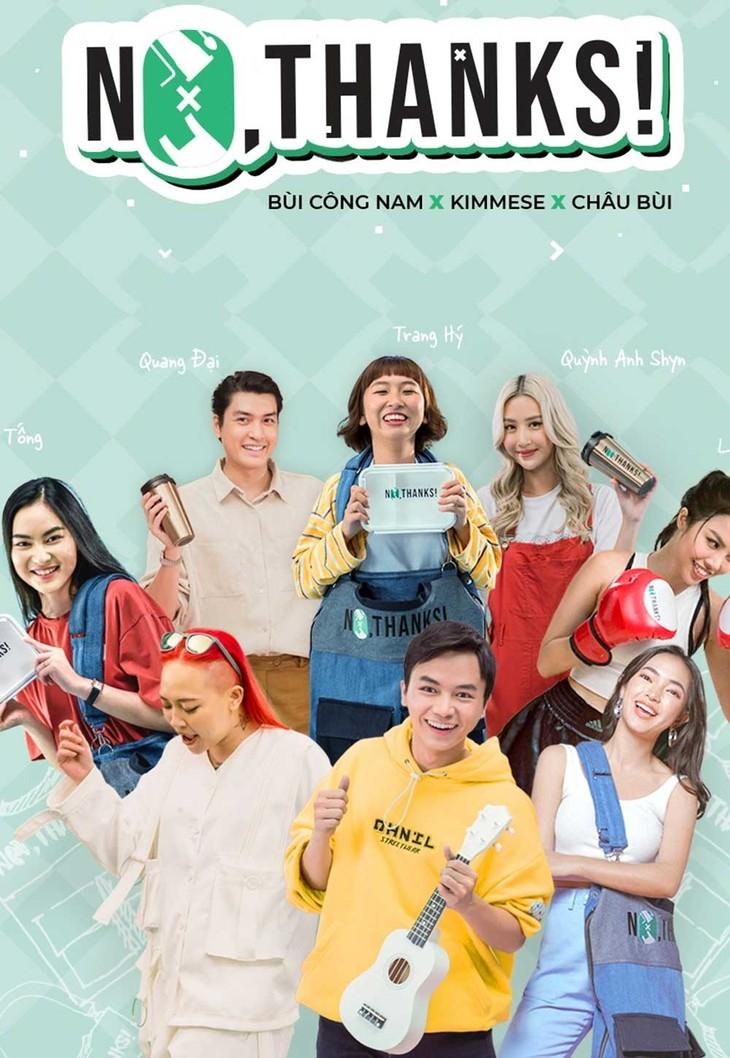 베트남 예술가, 뮤직비디오 통해 일회용 플라스틱 줄이기 캠페인 - ảnh 1