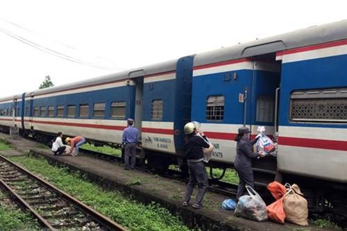베트남철도,승객 열차를 SE3/SE4 한 대만 편성  - ảnh 1