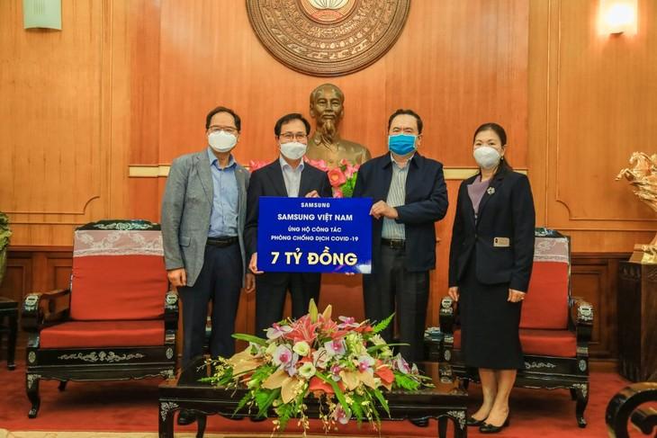 베트남 삼성,베트남에 지원 - ảnh 1